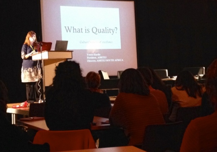 What is quality? – Cultural notions of excellence – Yvette Hardie