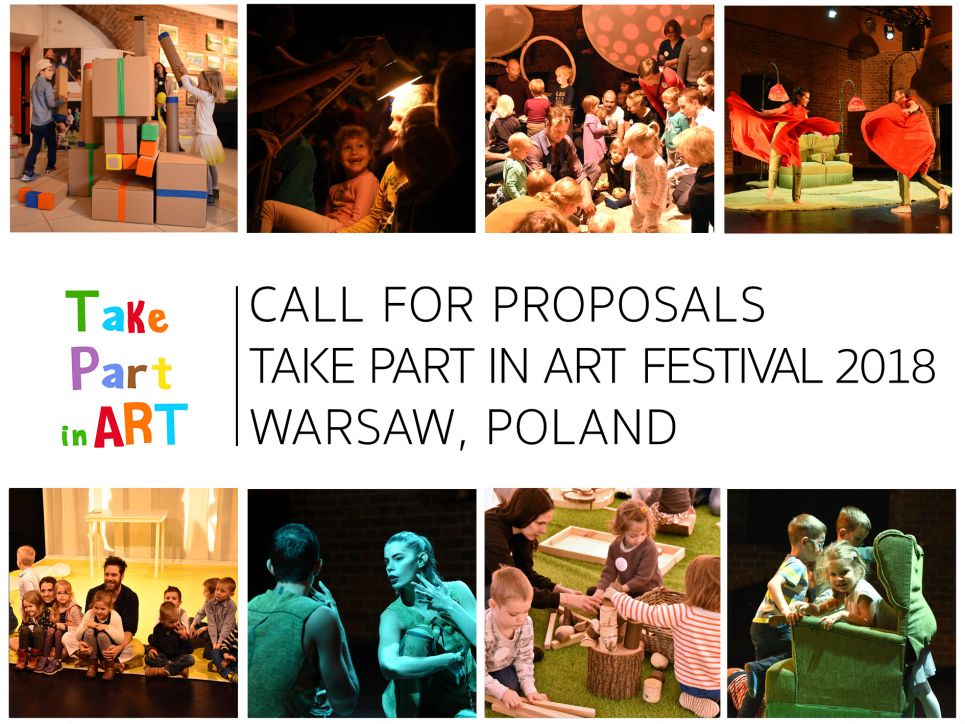 Call for Proposals Take Part in Art 2018